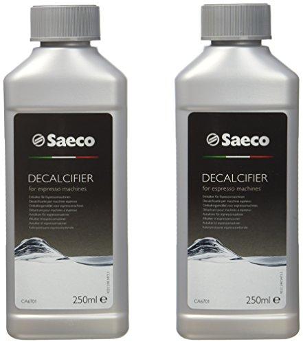 Saeco CA6701/00 Flüssig-Entkalker  für Espresso Machine, 2 x 250 ml