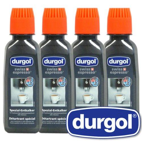 1 X Durgol Swiss Espresso Spezial-Entkalker, 2 Packungen, 4x125ml