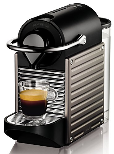 Krups XN 3005 Nespresso Pixie 19 bar, Thermoblock-Heizsystem electric titan