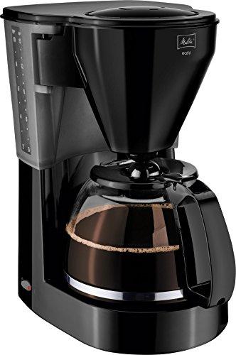 Melitta 1010-02 bk Easy Kaffeefiltermaschine -Glaskanne -Tropfstopp -Schwenkfilter schwarz