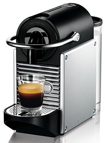 DeLonghi Nespresso EN 125.S Kapselmaschine 1260 Watt, 0,7 Liter, Pixie Electric silber