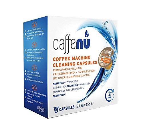 Cilio 102000 Caffeenu Renigungskapseln 5 Stück, Pulver, weiß