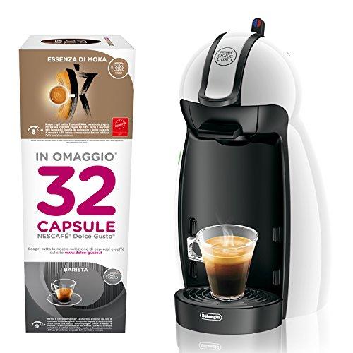 Dolce Gusto edg100.w Maschine für Kaffee Espresso und andere Getränke, Weiß