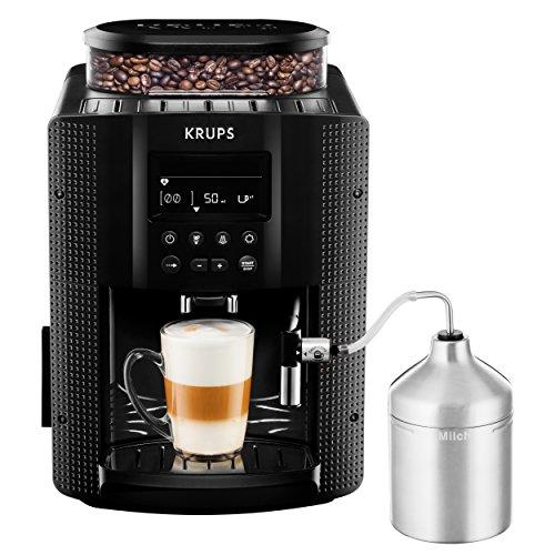KRUPS EA8160 Kaffeevollautomat 1,8 l, 15 bar, LC Display, AutoCappuccino-System schwarz