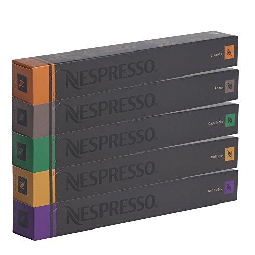 NESPRESSO SORTIMENT – 50 ESPRESSO KAPSELN – DHL