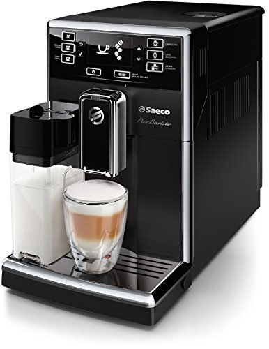 Saeco PicoBaristo HD8925/01 Kaffeevollautomat integriertes Milchsystem, AquaClean-Filter schwarz
