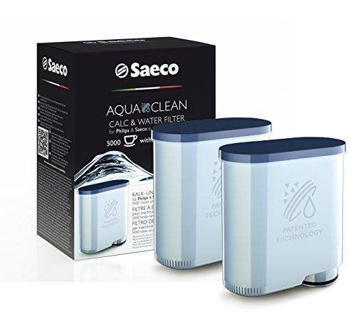 Saeco CA6903/01 AquaClean Kalk und Wasserfilter für Saeco und Philips Kaffeevollautomaten, doppelpack
