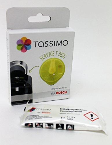 TASSIMO ORIGINAL SERVICE T DISC UND ENTKALKER Von Ersatzteil+