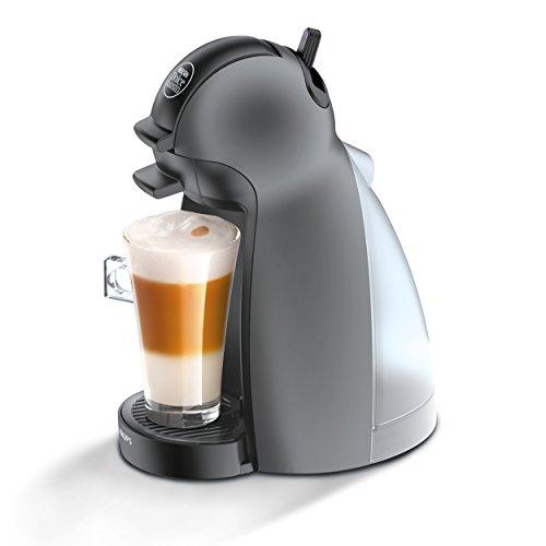 Krups KP 100B Nescafé Dolce Gusto Piccolo Kaffeekapselmaschine manuell anthrazit