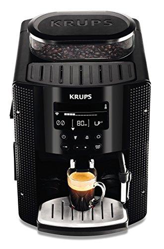 KRUPS EA8150 Kaffeevollautomat 1,8 l, 15 bar, LC Display, CappuccinoPlus-Düse schwarz