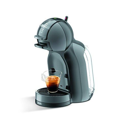 Krups KP 1208 Nescafé Dolce Gusto Mini Me Kaffeekapselmaschine automatisch anthrazit