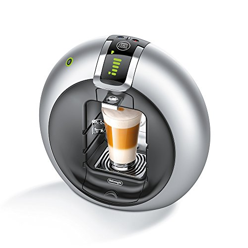 DeLonghi EDG 606.S Nescafé Dolce Gusto Circolo Kaffeekapselmaschine 1500 Watt, automatisch silber