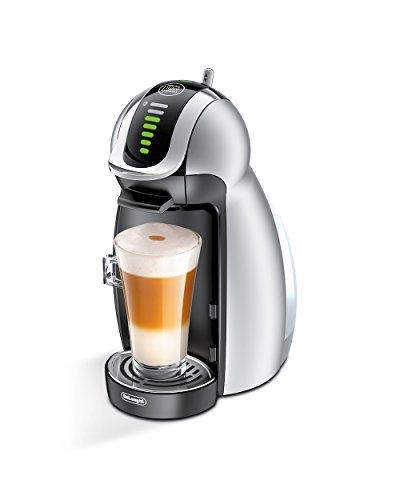 DeLonghi EDG 466.S Nescafé Dolce Gusto Genio Kaffeekapselmaschine 1600 Watt, automatisch silber