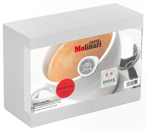 "Kaffee Probierset ""ESE Lungo"", 24 ESE Kaffeepads / ESE Pads / Pods / Cialde, 168 g"
