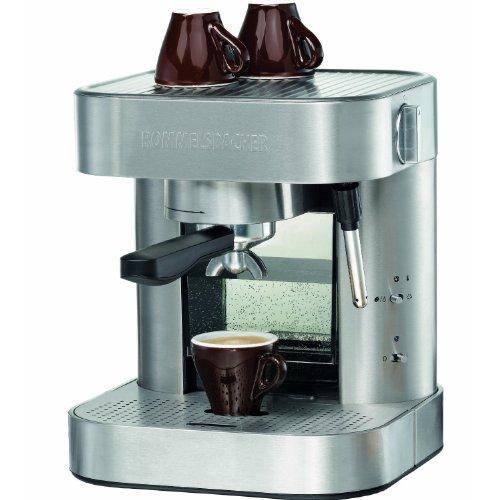 Rommelsbacher EKS 1500 Espressomaschine 1275 Watt, 19 bar Edelstahl