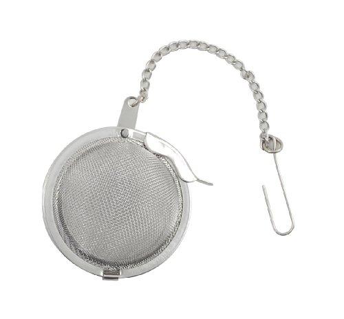 Metaltex 253811 Teesieb aus Edelstahl, mit Kette, 4,5cm