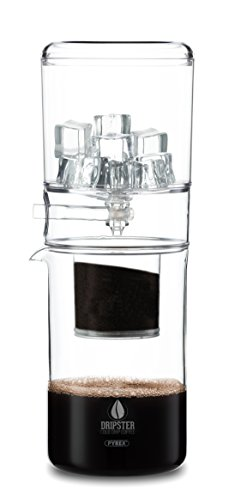 DRIPSTER Cold Drip Coffee Maker 4 Tassen / 500ml, Dripper für Cold Brew Kaffee