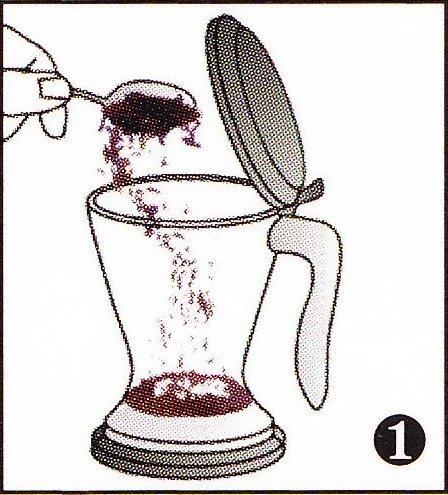 Teefilter zum mehrfachen Aufbrühen von Tee und Kaffee geeignet – Fassungsvermögen 0,5l – Teebereiter und Kaffeebereiter MAGIC II von ChaCult zum einfachen Zubereiten von Tee und Kaffee – Teezubereiter und Kaffeezubereiter