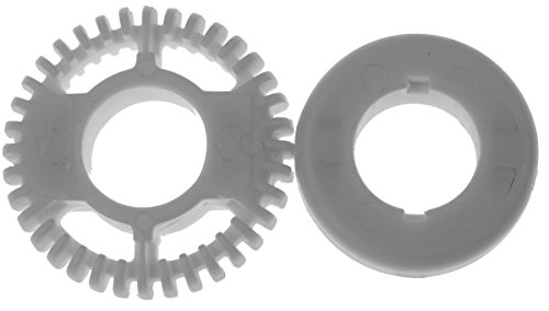 Severin Einsatz-Set 8332048 + 8331048 weiss passend für für SM3582, SM9684, SM9688 und SM9685 Milchaufschäumer