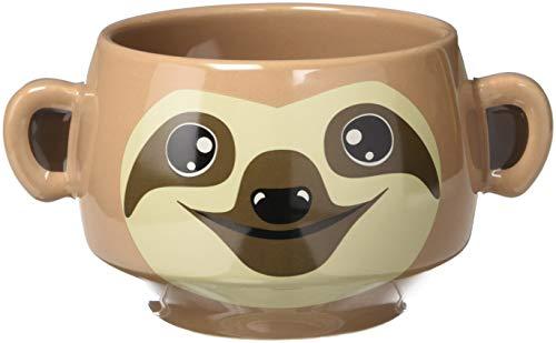 Thumbs Up Sloth Mug-Faultier Tasse, Keramik, braun, 14.5 x 9.5 x 8 cm