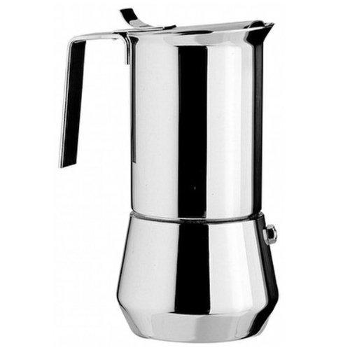 """Ilsa 0090 """"Turbo Express"""" Espressokocher Edelstahl für 1 Tasse"""