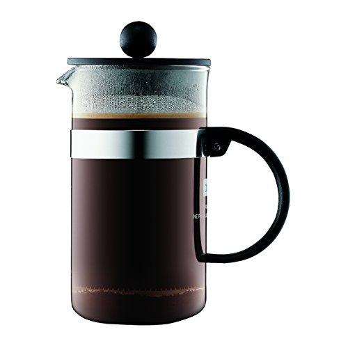 Bodum bistroNOUVEAU Kaffeebereiter French Press System, Spülmaschinengeeignet, 0,35 liters schwarz
