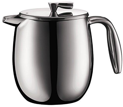 Bodum columbia Kaffeebereiter Doppelwandig, Edelstahl, Spülmaschinengeeignet, 0,5 liters matt