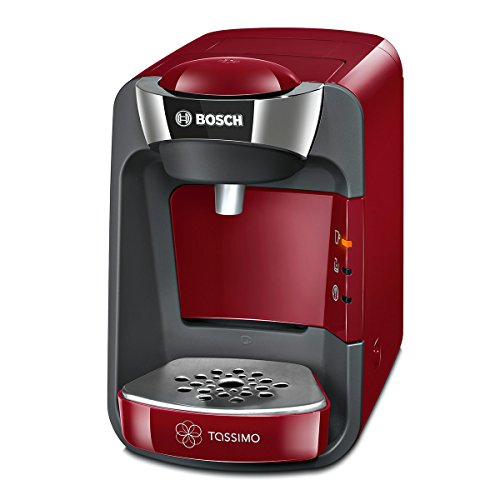Bosch TAS3203 Tassimo T32 Suny Multi-Getränke-Automat Suny, autumn rot / anthrazit