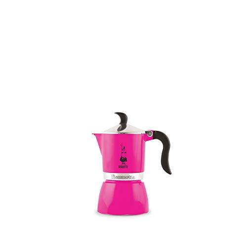 "Bialetti 5351 Espressokocher""Fiammetta"" für 1 Tasse in Aluminium, Fuchsia, 30 x 20 x 15 cm"
