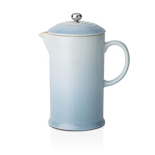 Le Creuset Steinzeug Kaffee-Bereiter, 0,75 L, meeresblau