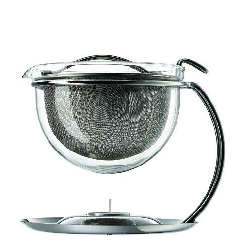 mono-filio Portions-Teekanne 44200, mit integriertem Stövchen, 0,6 Liter