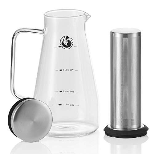Kaffee-Zubereiter Aroma Eiskaffee Kaffeebereiter – Coffee Fox Cold Brew Coffee Maker