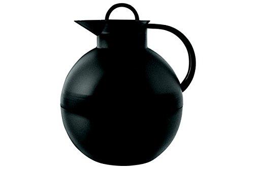 alfi 0115.020.094 Isolierkanne Kugel, Kunststoff Schwarz 0,94 l, 12 Stunden heiß, 24 Stunden kalt