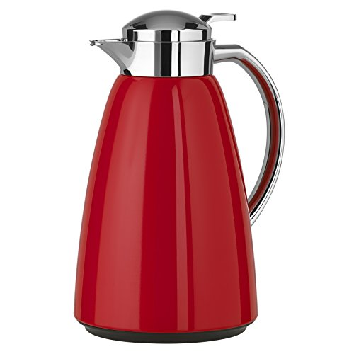 Emsa 516525 Campo Isolierkanne, 1 Liter, Rot