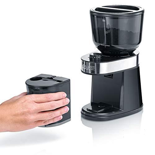 Graef CM202EU Kaffeemühle, Schwarz
