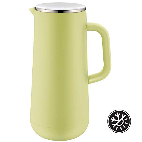 WMF Isolierkanne Thermoskanne Impulse, 1,0 l, für Kaffee oder Tee Drehverschluss hält Getränke 24h kalt und warm, lime