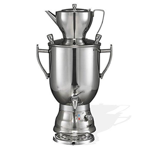 BEEM 3008 C, 8.0 Liter Samowar, Edelstahl