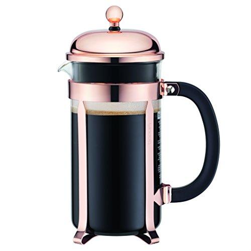 Bodum 11652-18 Kaffeebereiter, Borosilikatglas, 1 Liter