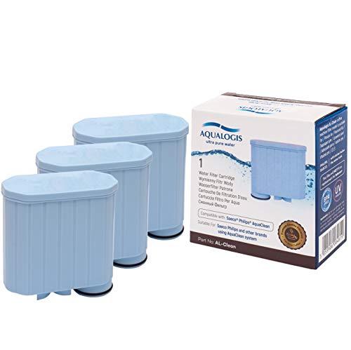 Aqualogis Al-Clean für Saeco CA6903/01 AquaClean Kalk und Wasserfilter für Saeco und Philips Kaffeevollautomaten 3