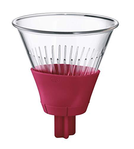 alfi 0095.278.001 Kaffeefilter Tritan, Rubin Rot, Größe 4, Kannenfilter für Isolierkannen zum direkten Brühen
