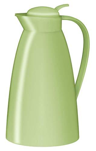 alfi 0825.281.100 Isolierkanne Eco, Kunststoff gefrostet Powder Green 1,0 l, 12 Stunden heiß, 24 Stunden kalt