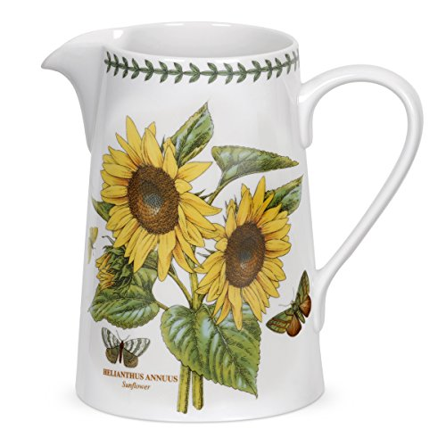 Portmeirion Botanic Garden Bella Jug, Sunflower Motif by Portmeirion