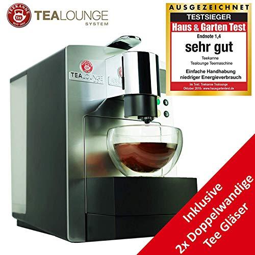 TEEKANNE Multifunktionale Kaffeekapselmaschine Teemaschine + Zubehör, Heißgetränkespender groß elektrisch 1455W, Kaffeeautomat Kapseln, Kaffeemaschine K-Fee kompatibel,UVP 299 € – ANGEBOTSPREIS