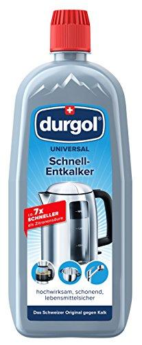 2 x750ml – durgol universal Schnell-Entkalker – Deutsche Version – Kalkentferner für alle Haushaltsgeräte