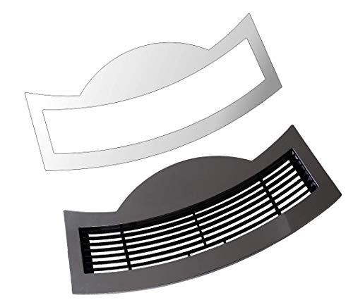 E8 – S80 – S8 – E80 Modell 2018 Tassenablage, Abtropfblech, Tassenplattform – 3 x Schutzfolie für Jura E-Line