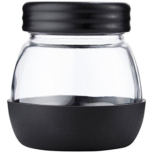 Levivo Vorratsglas / zusätzlicher Glasbehälter für die Levivo Handkaffeemühle, 350 ml