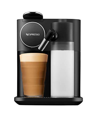 De'Longhi Nespresso Gran Lattissima EN650.B Kapselmaschine, Kaffeemaschine mit Milchaufschäumer, für 6 Kaffee-Milchgetränke per Fingertip, 36,7 x 20,3 x 27,6 cm, schwarz