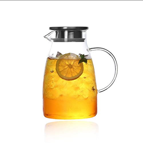 bnmu Thickened Glass teapot Explosion-Proof high Borosilicate Heat-Resistant Glass