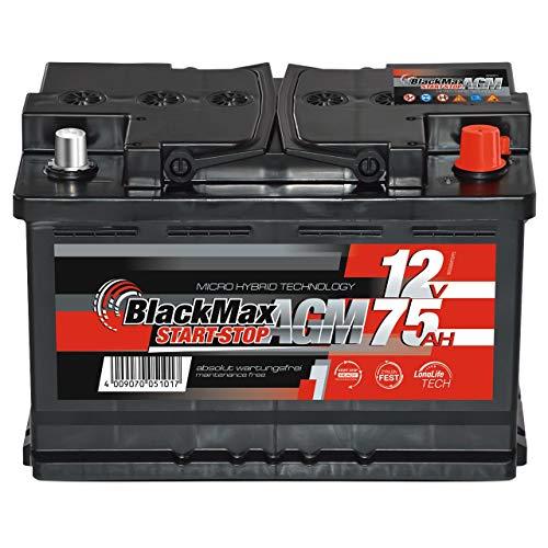 Top 8 Batterie Start Stop 70Ah – Autobatterien