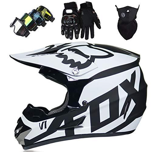 Top 10 Crosshelm Fox Schwarz – Motocrosshelme